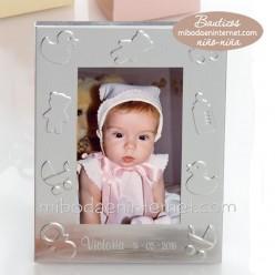 Portafotos Aluminio Relieve motivos bebé