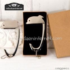 Cuelgabolsos Delfín en caja regalo