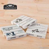 Posavasos palets de madera surtidos 10x10