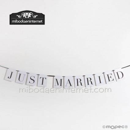 Guirnalda Just Married 4 mts