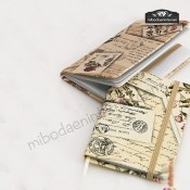 Libreta Notas Postales Elegante