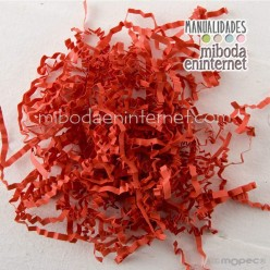 Viruta Rojo para decorar fondos