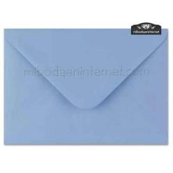 Sobre Color Azul Lavanda 13,4 x 18,5 cm