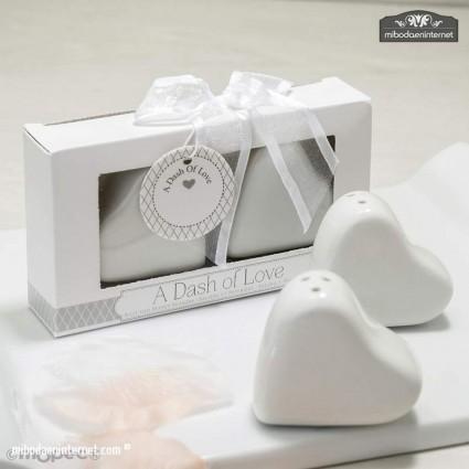 Sal Pimienta Corazón en caja regalo
