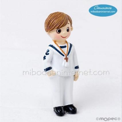 Imán niño Comunión marinero rubito