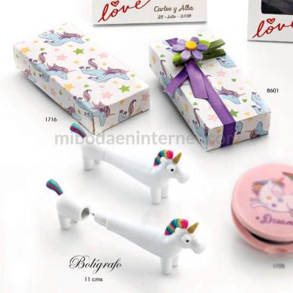 Bolígrafo Unicornio