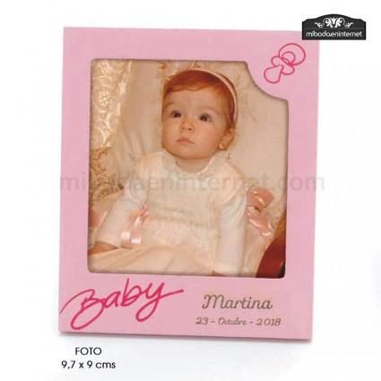 Portafotos Baby Polaroid Rosa