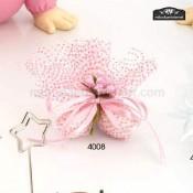 Tul con peladillas montaje rosa