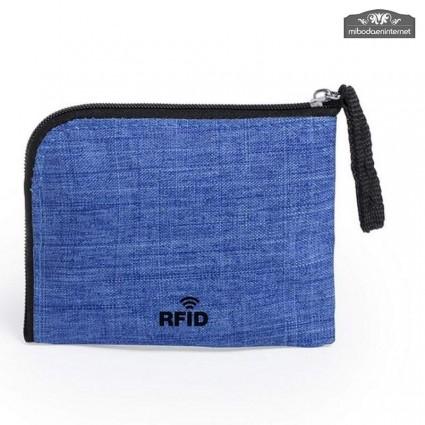 Tarjetero Monedero Protección RFID