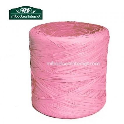 Rafia rosa chicle