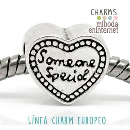 Charm Europeo Someone Special plateado