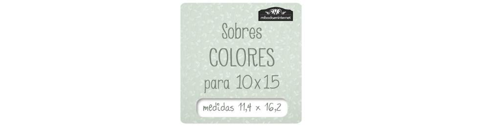 Sobres C6 Color