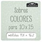 Sobres Colores 11 x 16