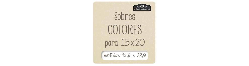 Sobres C5 Color