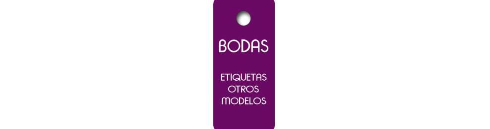 Etiquetas Boda Otros Modelos
