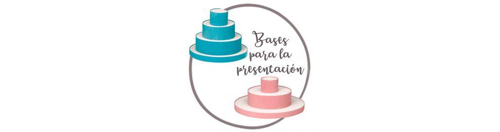 Tartas y Bases de presentación