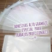Bolsas Celofan Adhesivas Alto Gramaje