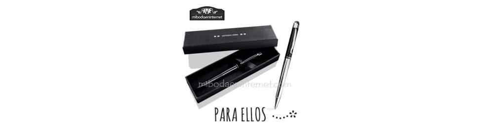 Bolígrafos y Escritura ELLOS