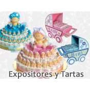 Expositores y Tartas Bautizo