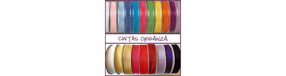 Cintas Organza