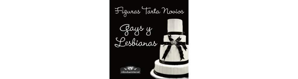 Figuras Tarta Gays y Lesbianas