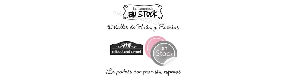 En Stock - Detalles Boda