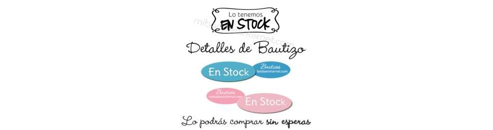 En Stock - Detalles Bautizo