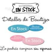 En Stock - Bautizo