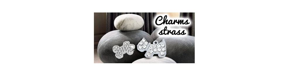 Charms con strass