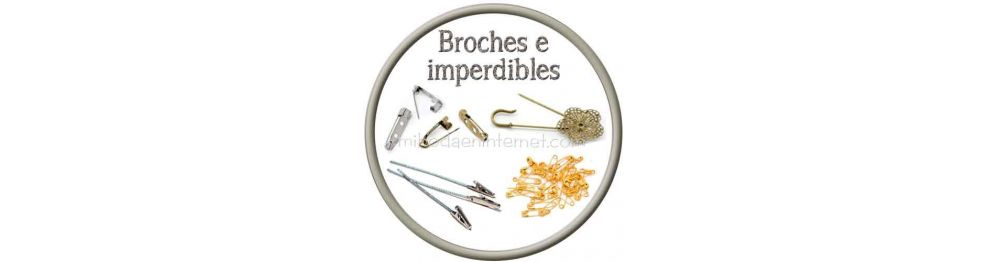 Broches, imperdibles y enganches