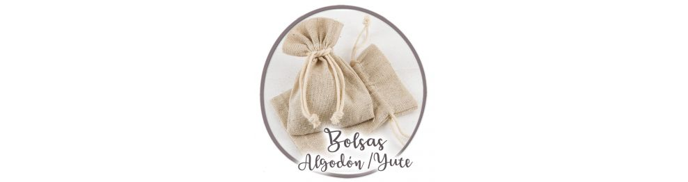 Bolsas Algodón / Yute / Antelina