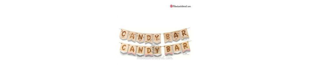 Mesas dulces-guirnaldas y Letras