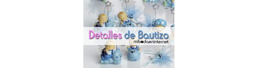 Detalles de Bautizo