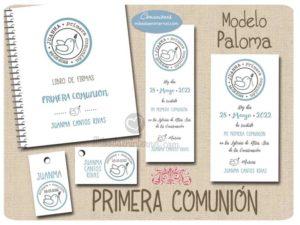 Conjunto de Primera Comunión Paloma