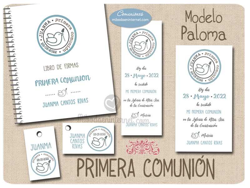 Primera Comunión Paloma Niño