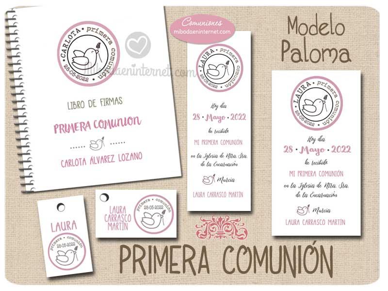 Conjunto Primera Comunión Paloma Niña