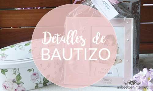 Detalles y Regalos de Bautizo